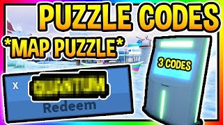 *PUZZLE* 3 NEW CODES IN JAILBREAK Roblox