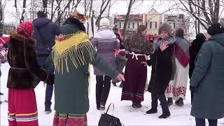 ЗИМНИЕ ТАНЦЫ В ПАРКЕ! Music! Dance!