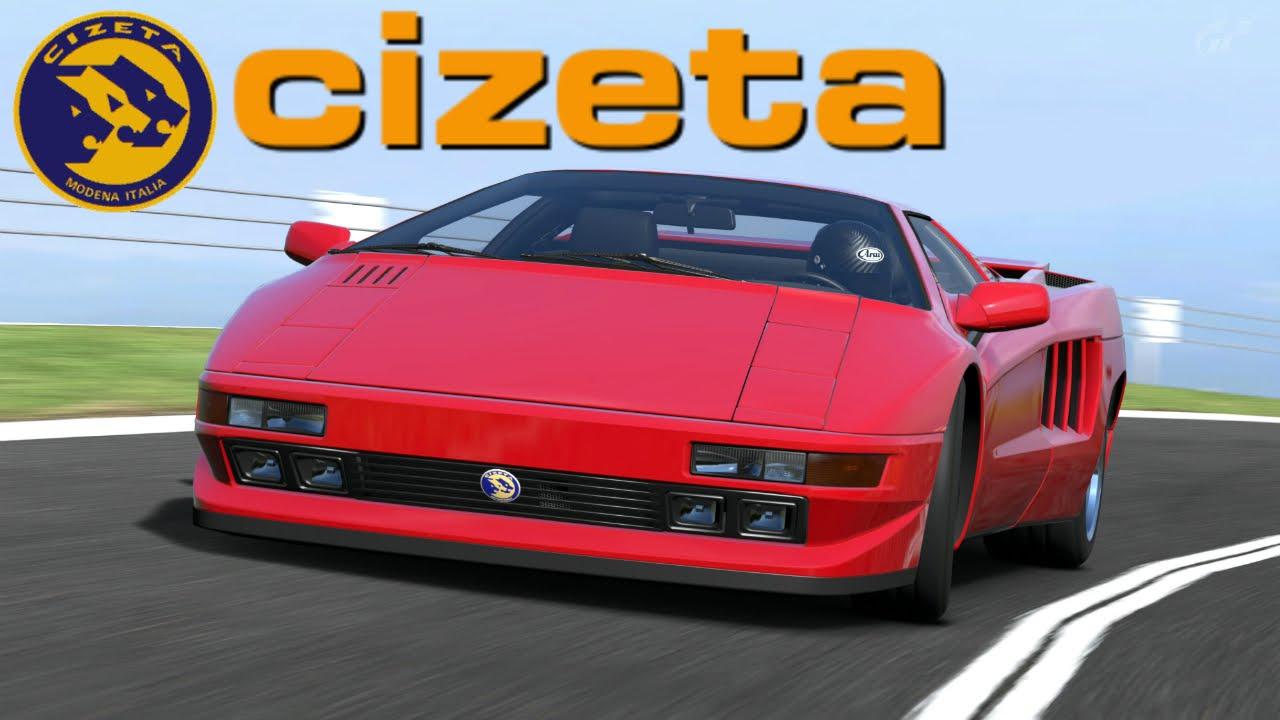Super Car Cizeta V16T ...