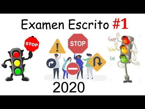 2020 NUEVO EXAMEN TEORICO ESCRITO DE MANEJO EP1 PREGUNTAS ACTUALES DMV