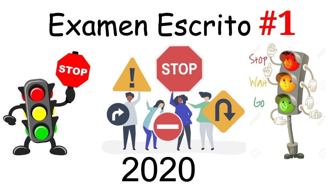 2020 Nuevo Examen Teorico Escrito De Manejo Ep1 Preguntas Actuales Dmv Youtube