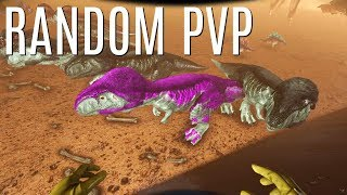 FREE VAULT OF LOOT and Random PVP - Official 6 Man Tribes (E19) - Ark Survival