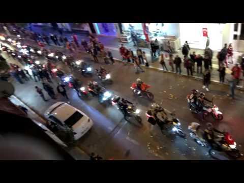 İzmir Motosiklet Kulübü 29 Ekim Cumhuriyet Bayramı Ata Caddesi Balçova.