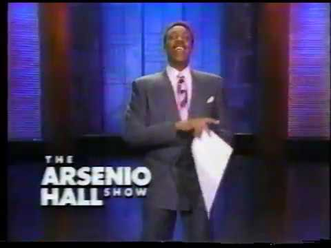 The Arsenio Hall Show commercial (1989)