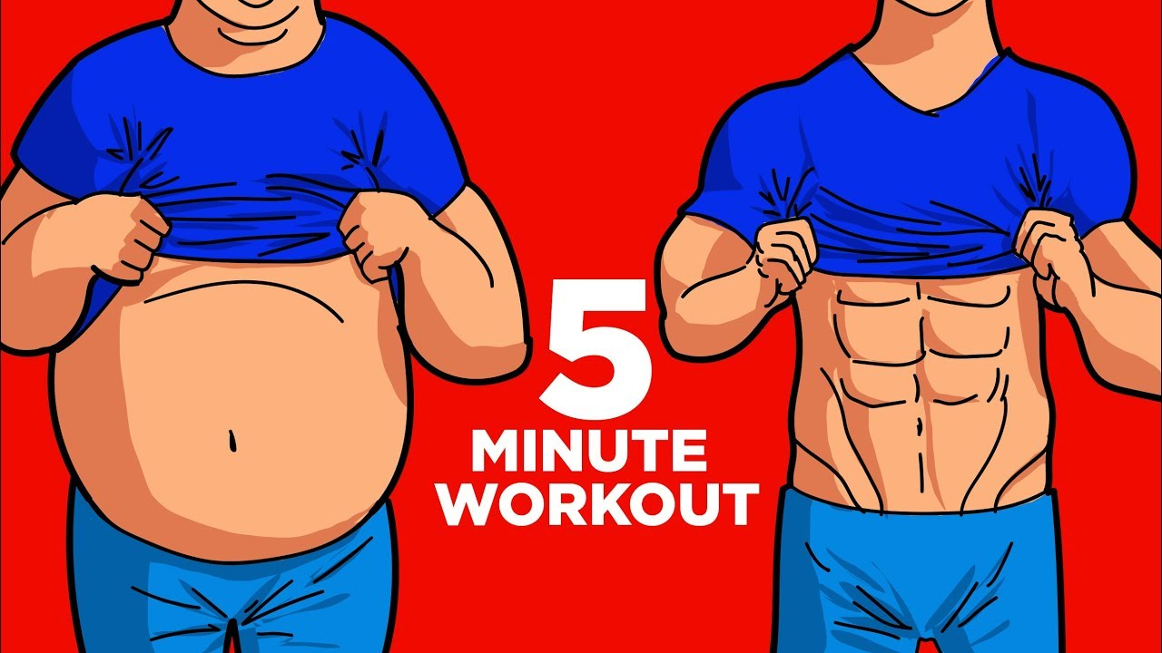 belly fat reduce exercise man