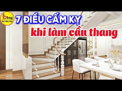Cầu thang kính - Những điều kiêng kỵ khi làm cầu thang bạn nhất định phải biết