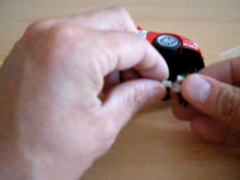 Fitting a Scalextric digital plug C8515 to a Digital Plug Ready (DPR) car