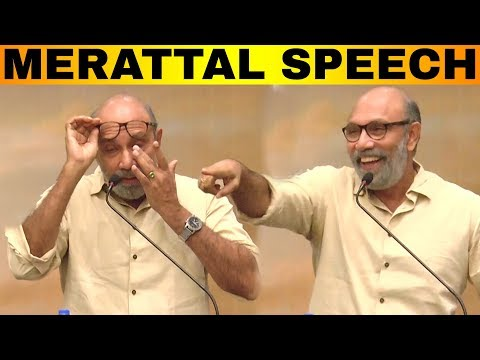 'Tears வந்தா தான் TRP ஏறும்' Sathyaraj Mirattal Speech | Kanaa Success Meet | Sivakarthikeyan