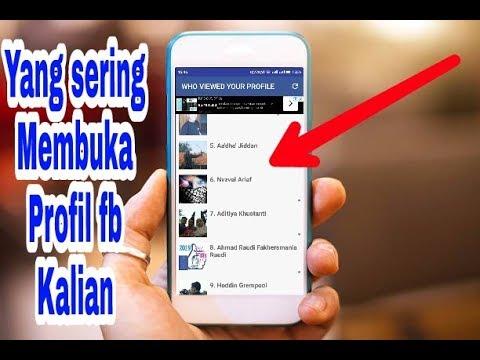 Cara Melihat Orang Yang Sering Melihat Profil Facebook Kita