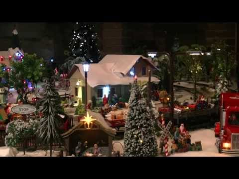 G Scale model rail Christmas layout part 00