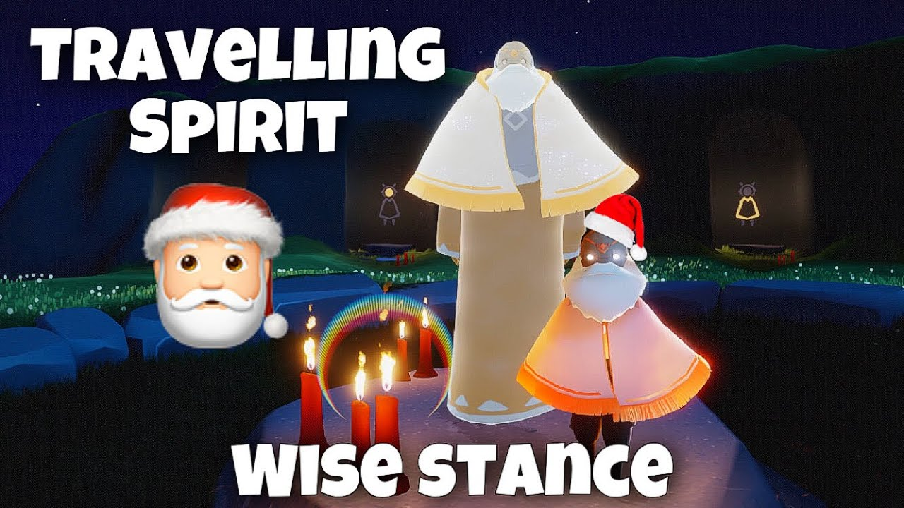 TRAVELLING SPIRIT - WISE GRANDPARENT 🎅| Season of Belonging | sky children of the light | Noob Mode