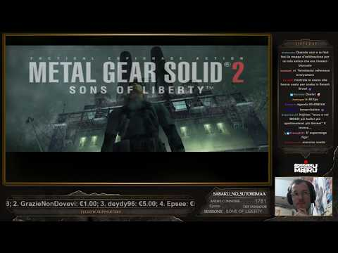 "Metal Gear Solid 2 w/ Sabaku, Run ""Veterana"" - #1"