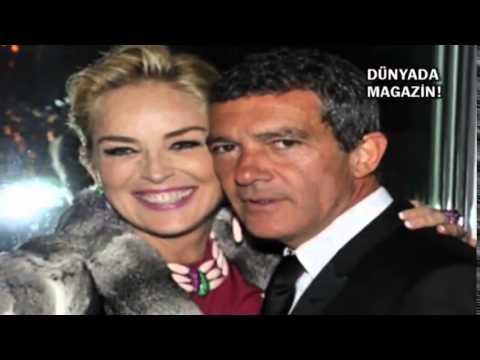 Magazin D Sharon Stone ile Antonio Banderas aşkı söylentileri sürüyor