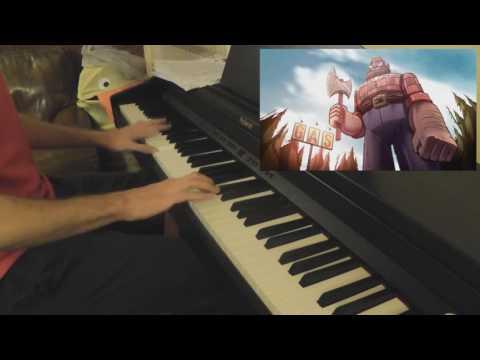 Disney Gravity Falls - Piano Opening + Weirdmageddon
