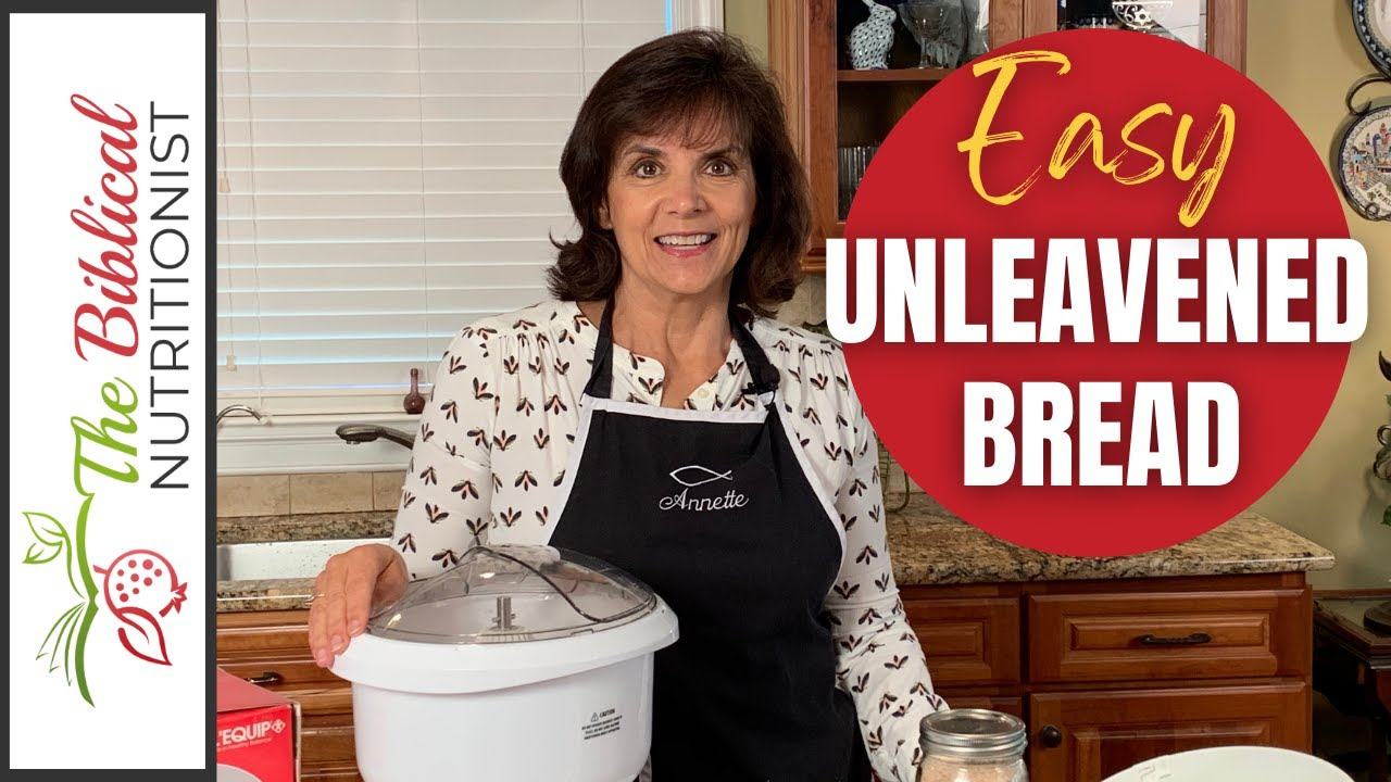 How to Make Unleavened Bread from the Bible - An Israeli Classic