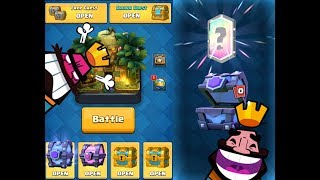 BULAN SAU GHINION LA CHEST OPENING ??? :: Clash Royale Romania
