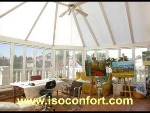 Cerramientos de jardines y casas verandas youtube - Cerramientos de casas ...