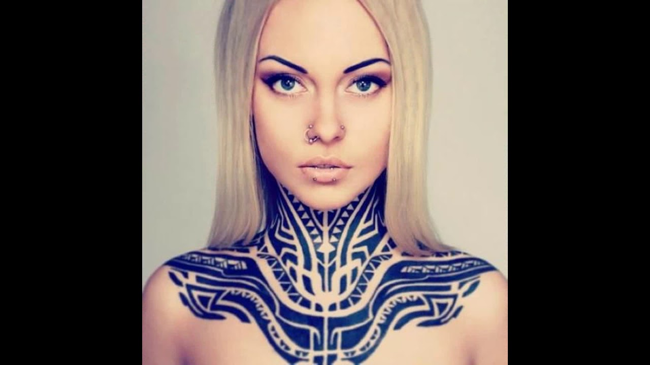 Front Neck Tattoos Tumblr
