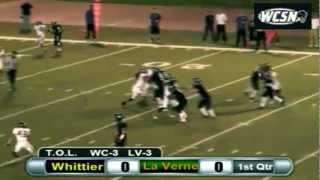 Football: Whittier vs. La Verne