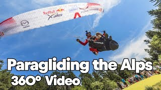 Paragliding Over the Alps with Paul Guschlbauer | 360° Video (in 4K!)