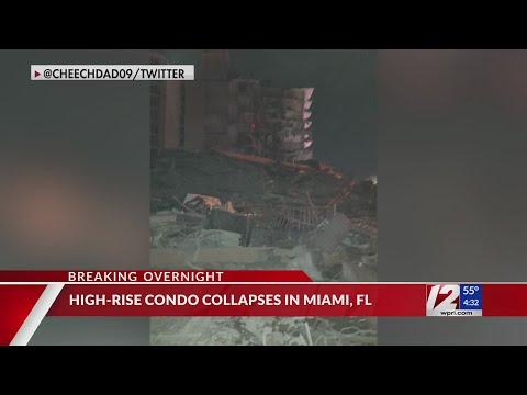 Multi-story building in Miami partially collapses - WPRI