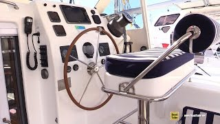 2015 St Francis 50 Catamaran - Deck and interior Walkaround - 2015 Annapolis Sail Boat Show