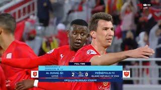المباراة كاملة | الدحيل 2 - 0 بيرسبوليس الإيراني | دوري أبطال آسيا 2020