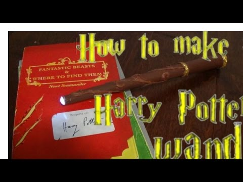 LIGHT UP WAND MADE FROM PAPER!!!