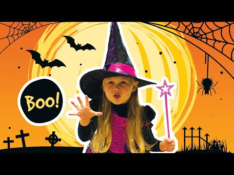 Halloween Song Nursery Rhymes For Kids From Vika And Alex