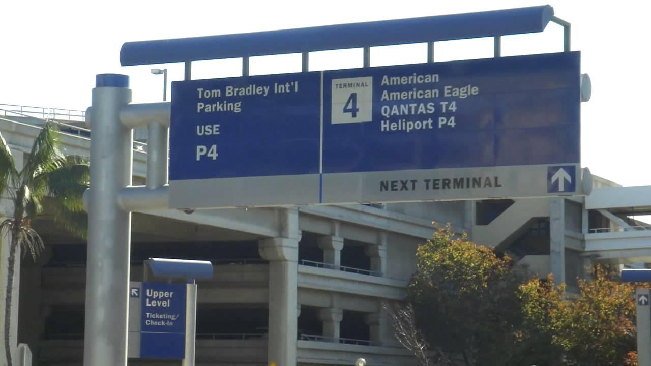 LAX Intl Terminal Tom Bradley Parking 4