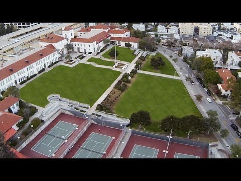 Beverly Hills High School 90210 DJI Phantom FPV Flying DSLR Pros GoPro Hero 3 Black BHHS