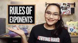 Gambar cover Exponent Rules | Laws of Exponents - Algebra - Civil Service & UPCAT review