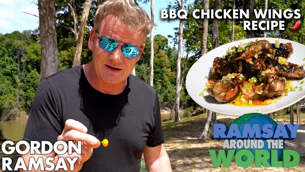 Download Are Gordon Ramsay's Chicken Wings Spicy Enough for The Hot Ones?   Ramsay Around the World