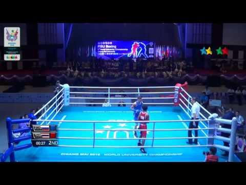 Вадим Кудряков и Рустем Мустафаев WUC Boxing 2016