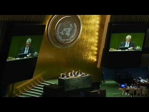 General Assembly 70th session 1st meeting