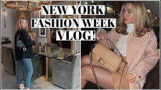 48 hours in NYFW! | Weekend Vlog