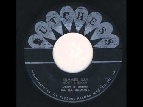 Dotty & Bonny with Baba Brooks - Summer Day [CARIBBEAN RHYTHMS SOURCE SOUND]