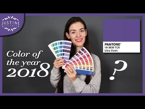 Pantone color of the year 2018 ǀ Let's play with it! ǀ Justine Leconte