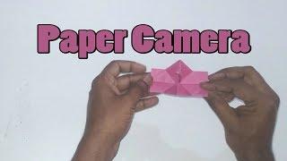 How to make paper camera || paper camera || paper craft camera