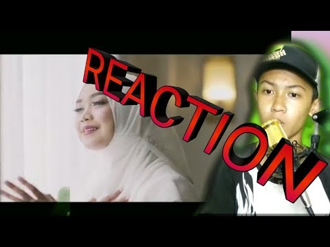[REACTION]  Wanita Surga Bidadari Dunia~ Cover. Ria Ricis. Ft. Azmi