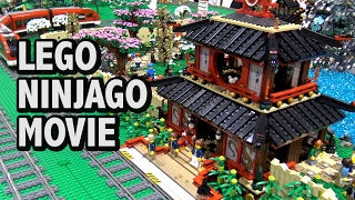 Huge Custom LEGO Ninjago Movie Village   BrickFair Alabama 2017