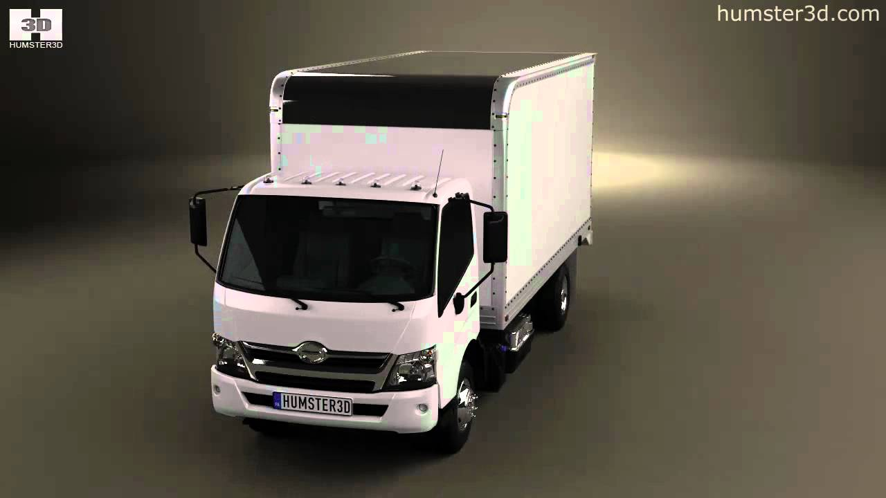 Hino 195 Hybrid Box Truck 2017 By Model Humster