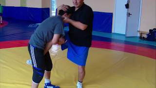 Приемы вольной борьбы (Freestyle wrestling Techniques) freestyle wrestling training