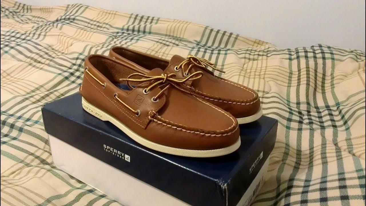 Tan Boat Shoes