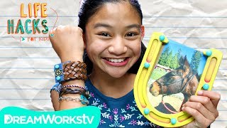 Lucky Horseshoe Picture Frame + Spirit Inspired Hacks | LIFE HACKS FOR KIDS