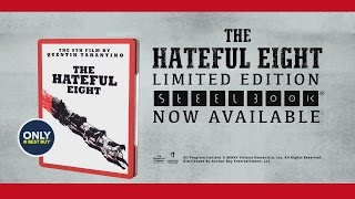 The Hateful Eight (Blu-ray+DVD+UV) (Steelbook) (Only @ Best Buy)(Available March 29th Only @ Best Buy The Hateful Eight (Blu-ray+DVD+UV) (Steelbook) (Only @ Best Buy) http://www.hidefninja.com Synopsis: Bounty hunter ..., 2016-03-29T05:06:21.000Z)