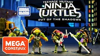 TMNT Out of the Shadows: The Chase | Teenage Mutant Ninja Turtles | Mega Construx