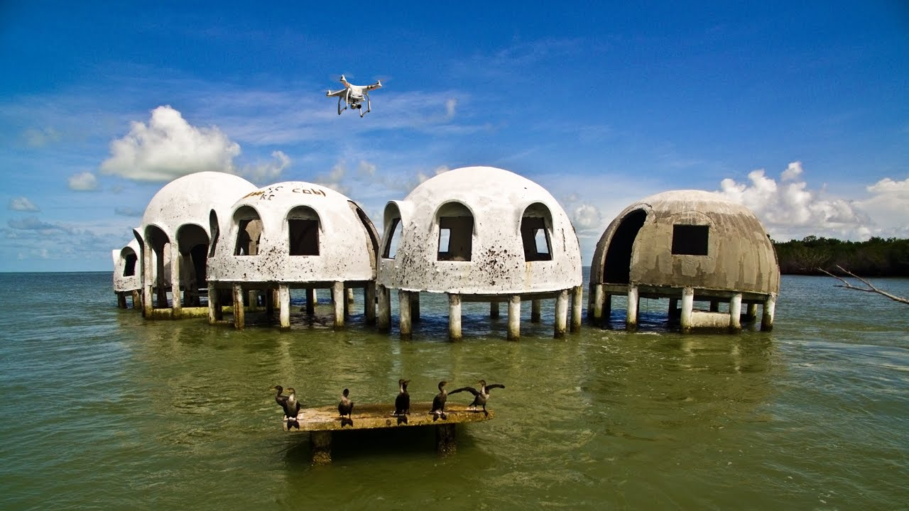 florida houses on the water. aerial video of the abandoned cape romano dome house recorded in 4k ultra hd youtube florida houses on water