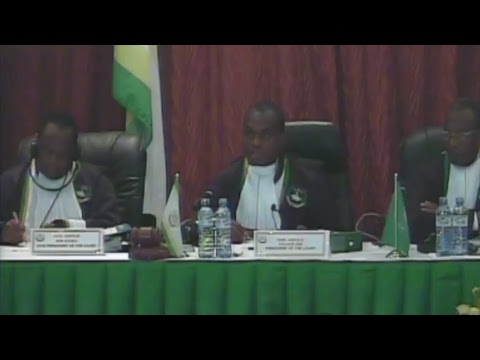 App. No. 013/2015 –Robert J. Penessis v. United Republic of Tanzania Part 4 - Live stream
