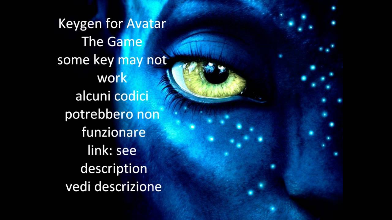 Avatar Pc Game Keygen Free Download